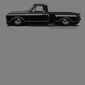 Shop Truck Tee - Black Print Design