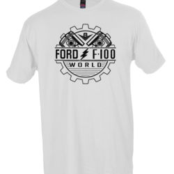 F100 World Front Only - White Thumbnail
