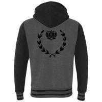 Unisex Varsity Hooded Full-Zip Sweatshirt Thumbnail