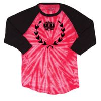 Tie Dye Three-Quarter Sleeve Raglan T-Shirt Thumbnail